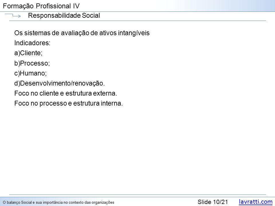 Formação Profissional IV