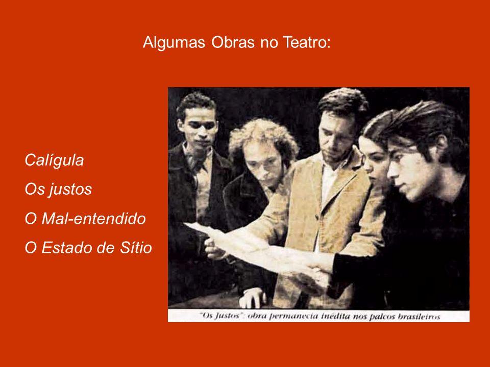Algumas Obras no Teatro: