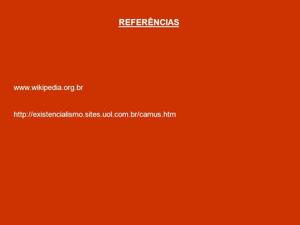 REFERÊNCIAS www.wikipedia.org.br
