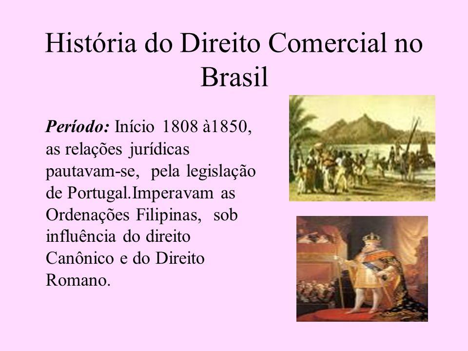 História do Direito Comercial no Brasil