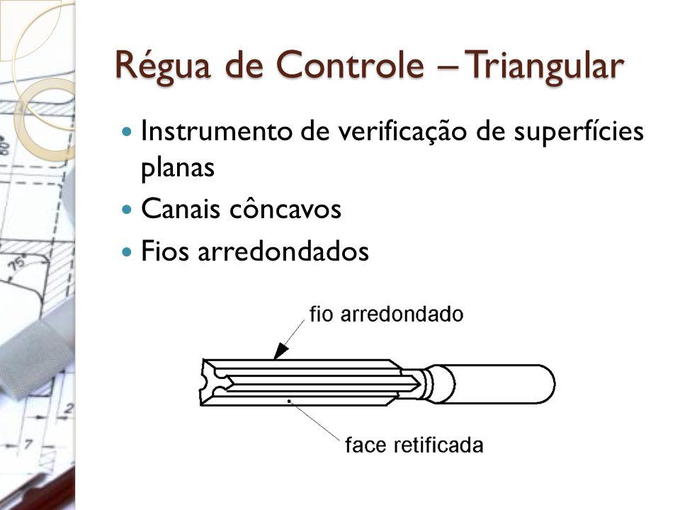 Régua de Controle – Triangular