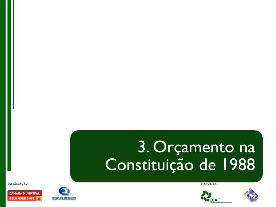 3. Orçamento na Constituição de 1988