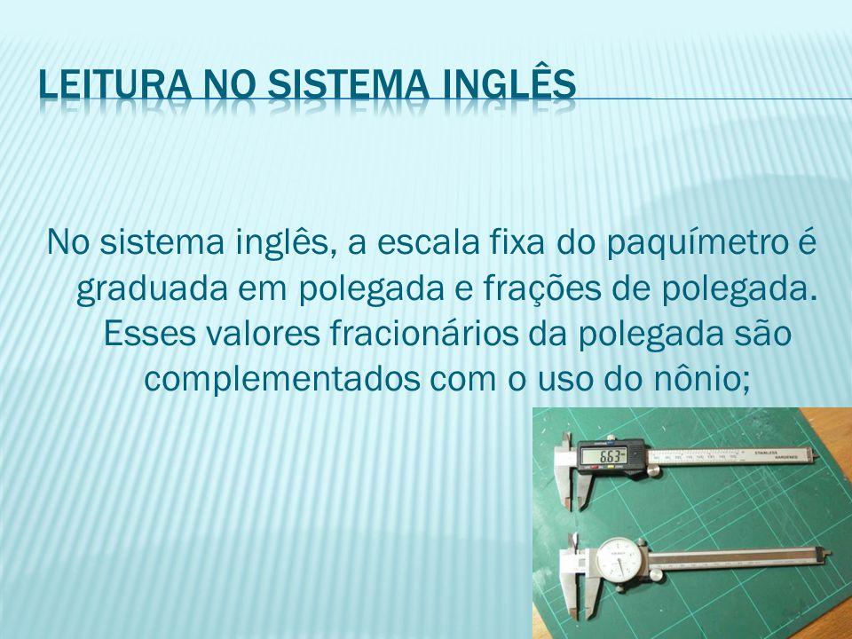 Leitura no sistema inglês