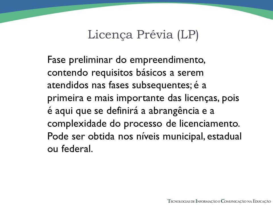 Licença Prévia (LP)