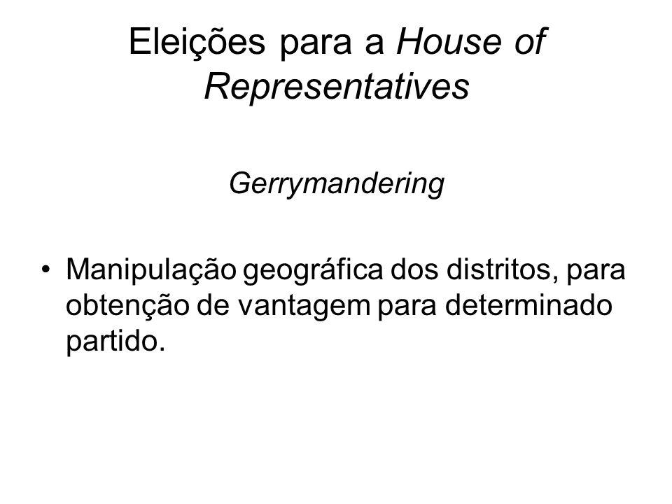 Eleições para a House of Representatives