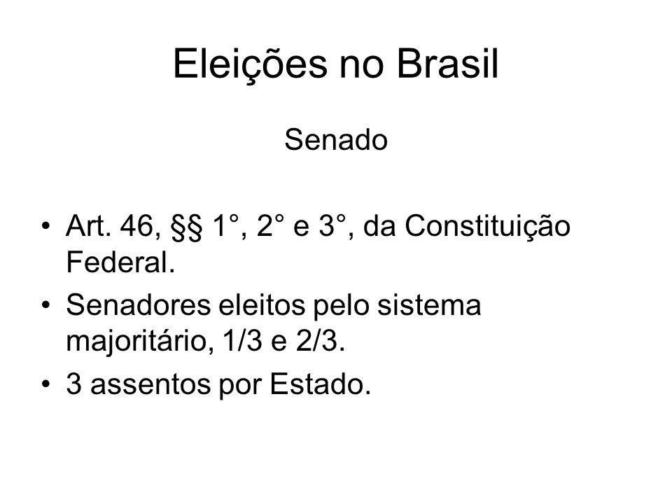 Eleições no Brasil Senado