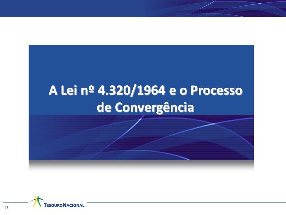 A Lei nº 4.320/1964 e o Processo de Convergência