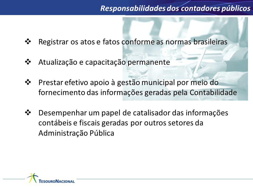 Responsabilidades dos contadores públicos