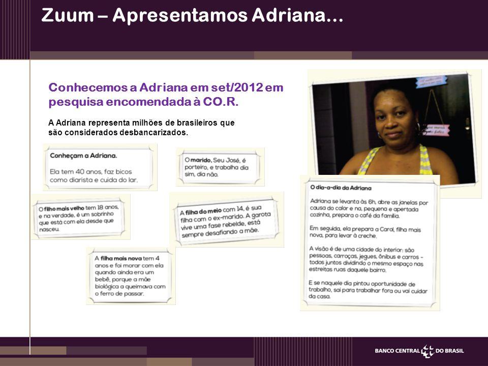 Zuum – Apresentamos Adriana...