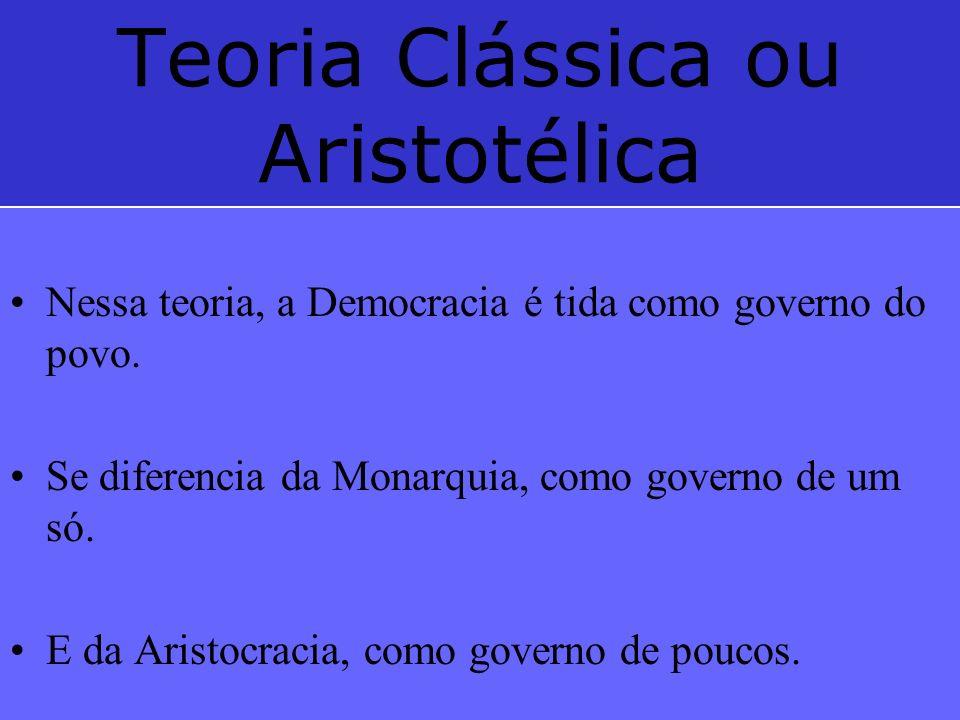 Teoria Clássica ou Aristotélica