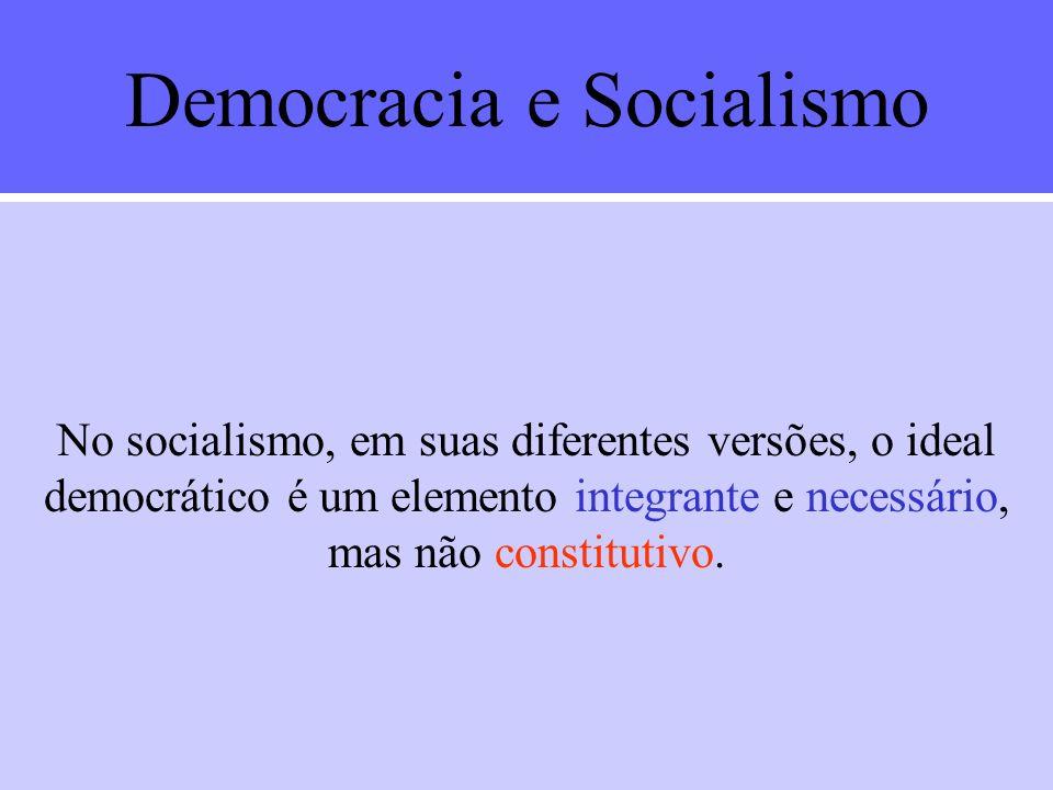 Democracia e Socialismo