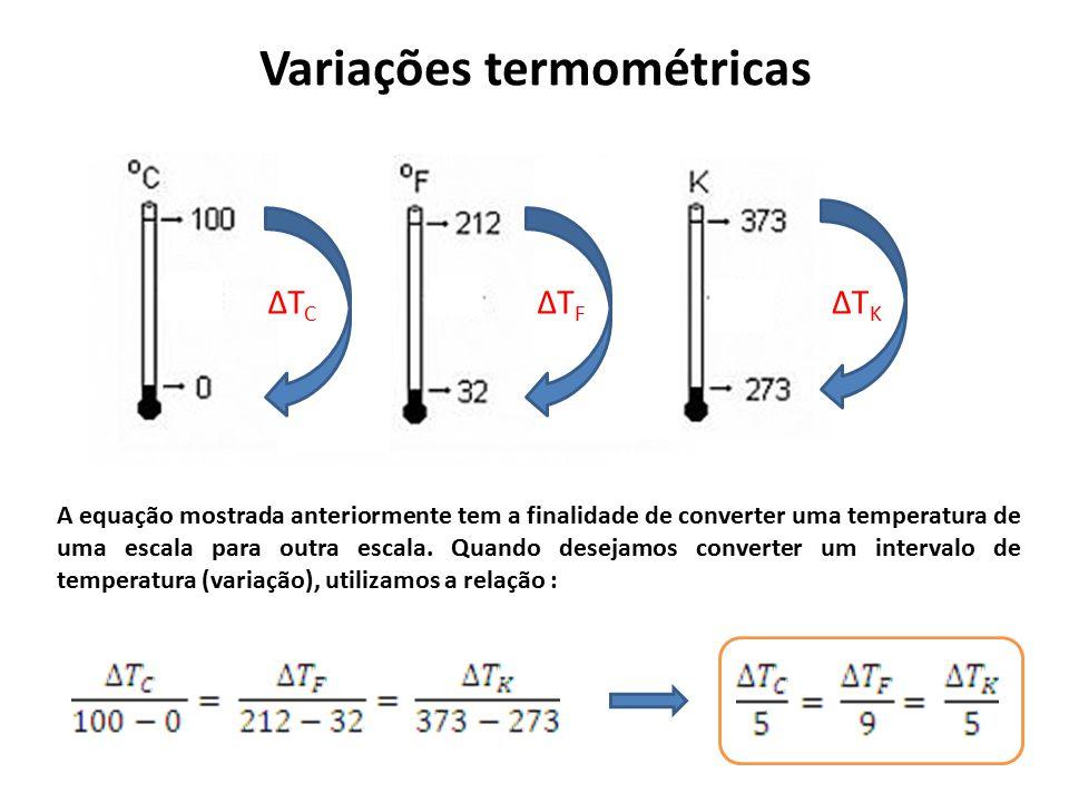Variações termométricas