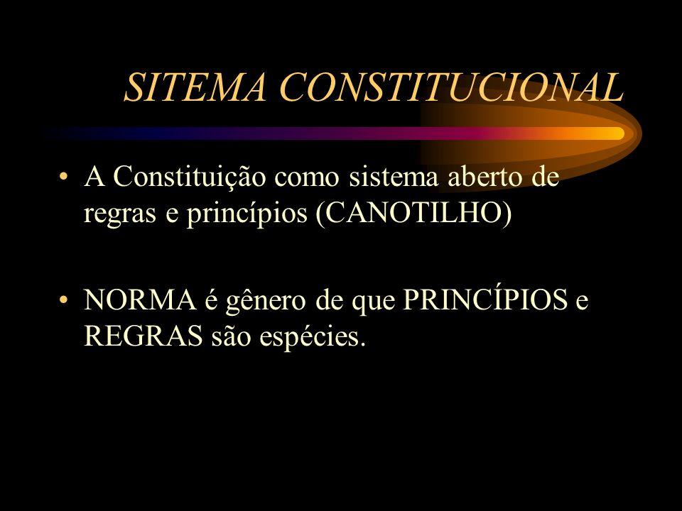 SITEMA CONSTITUCIONAL