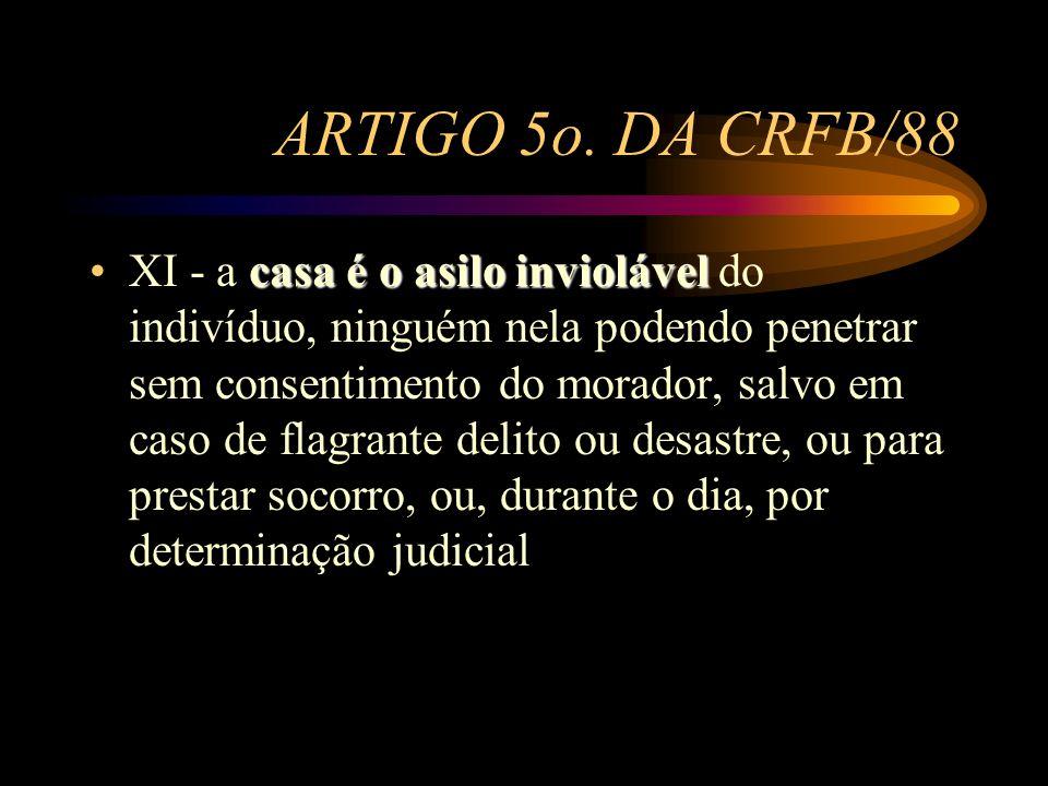 ARTIGO 5o. DA CRFB/88