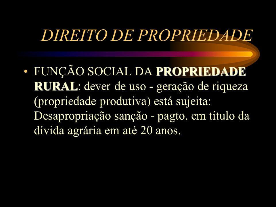 DIREITO DE PROPRIEDADE