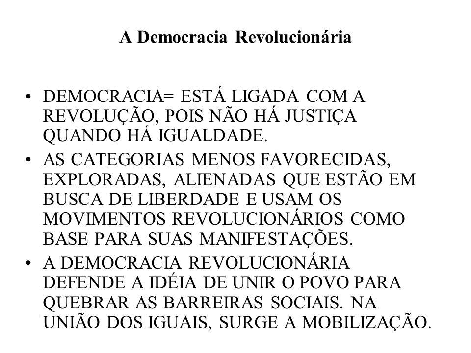 A Democracia Revolucionária