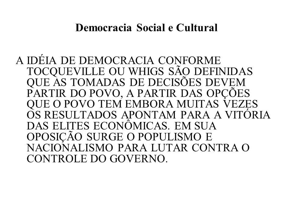 Democracia Social e Cultural