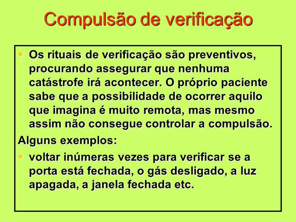 Compulsão de verificação