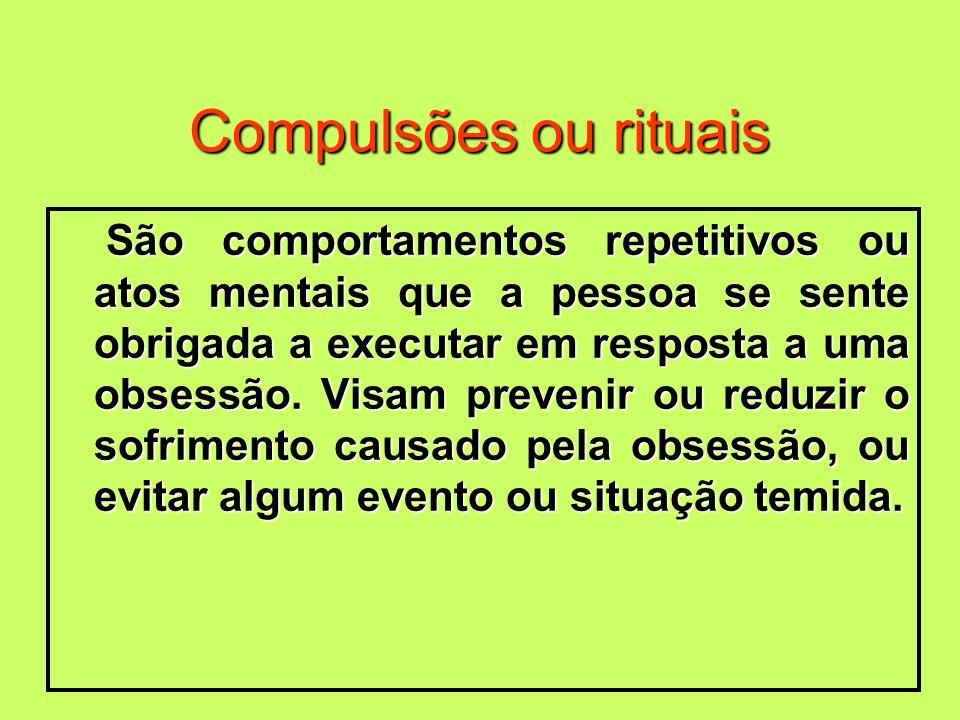 Compulsões ou rituais