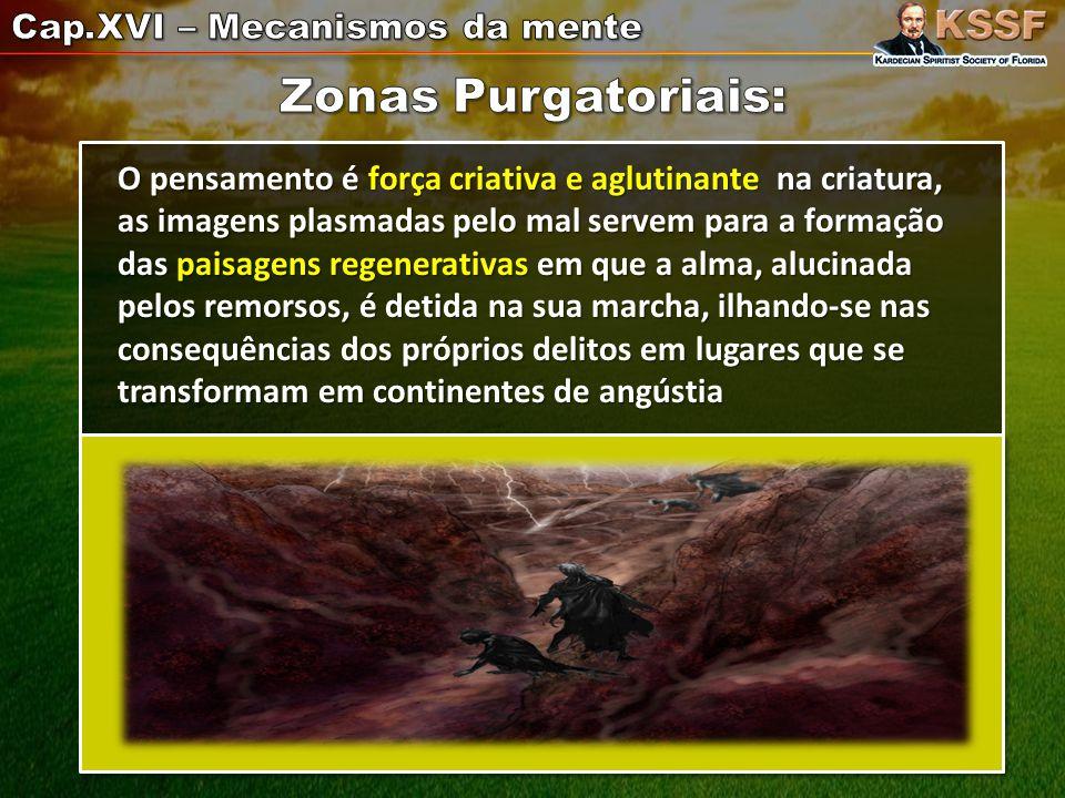 Zonas Purgatoriais: Cap.XVI – Mecanismos da mente