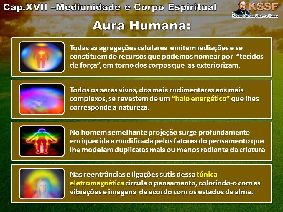 Aura Humana: Cap.XVII –Mediunidade e Corpo Espiritual