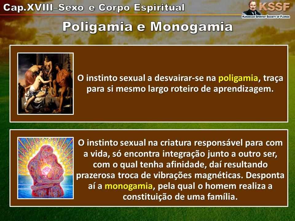 Cap.XVIII–Sexo e Corpo Espiritual