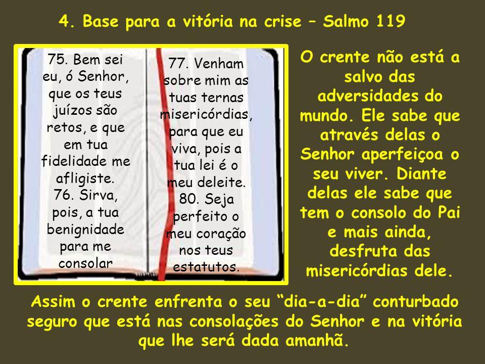4. Base para a vitória na crise – Salmo 119