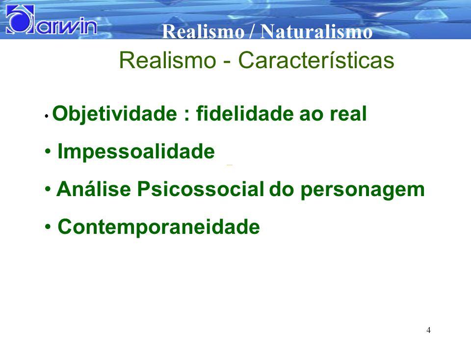 Realismo - Características