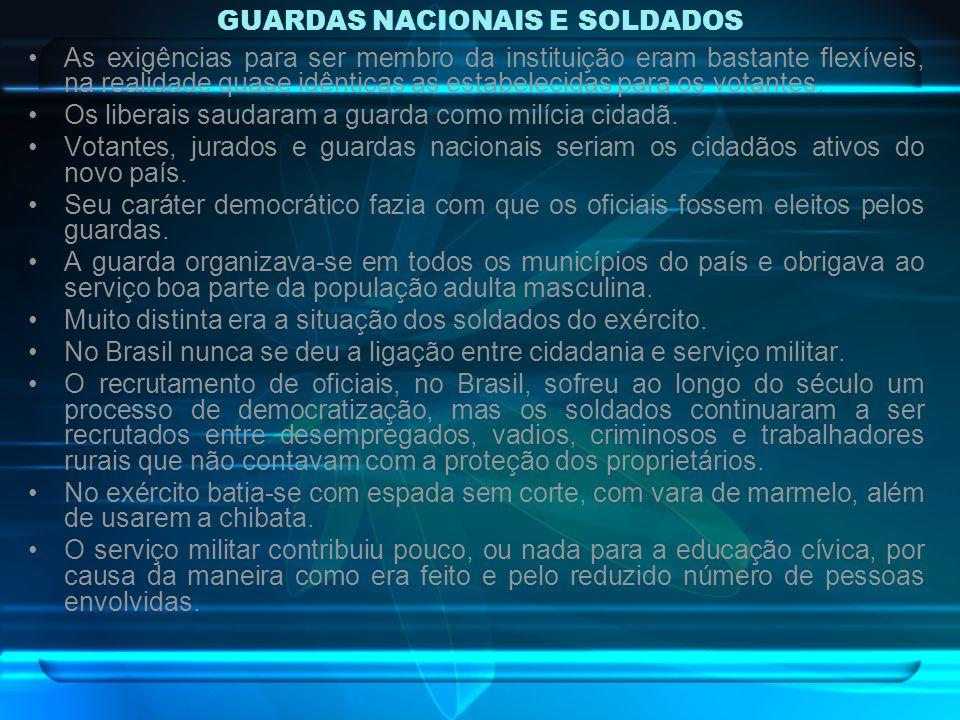 GUARDAS NACIONAIS E SOLDADOS
