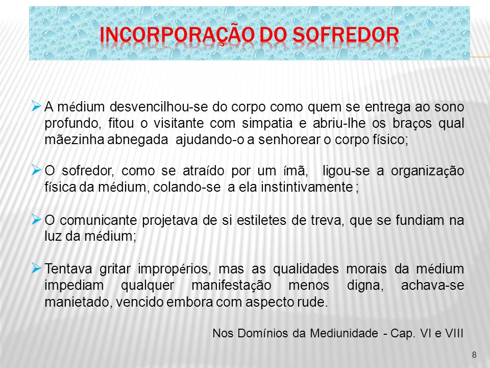 INCORPORAÇÃO DO SOFREDOR