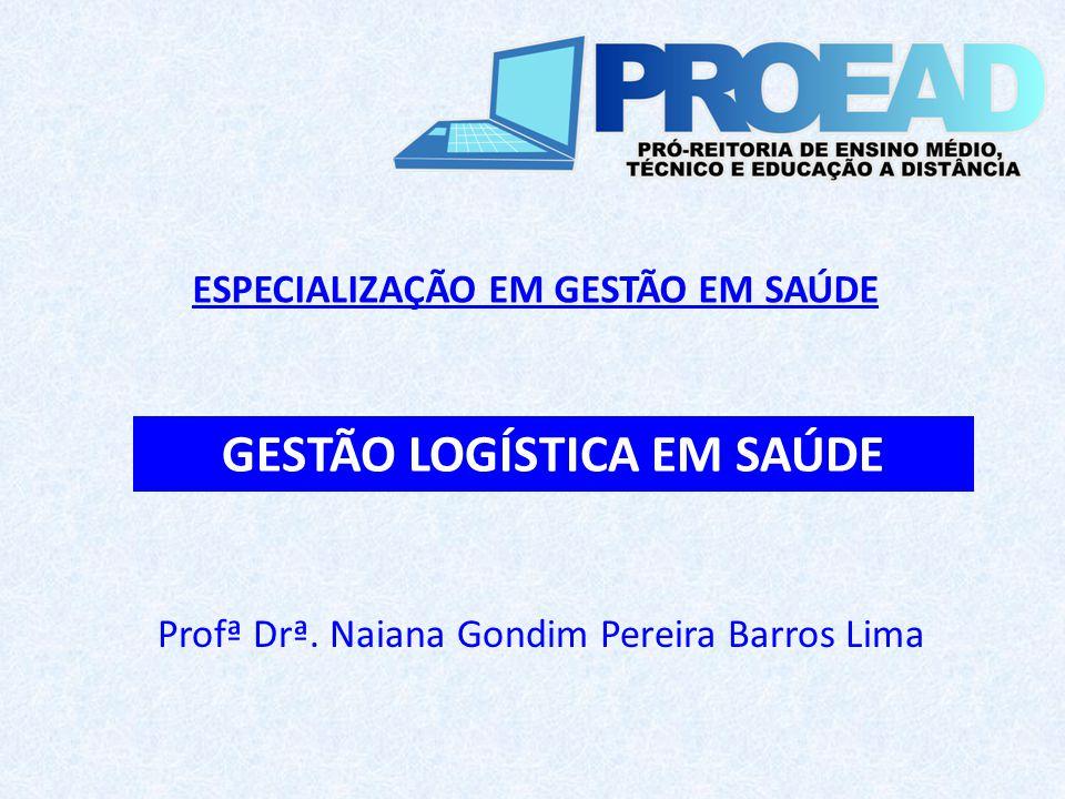 Profª Drª. Naiana Gondim Pereira Barros Lima