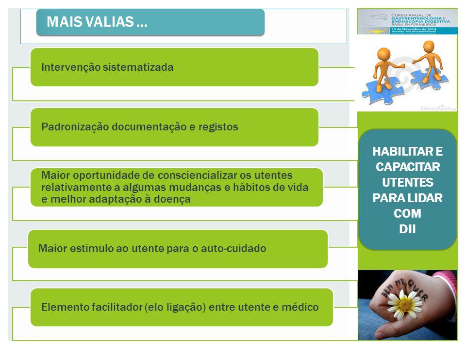 HABILITAR E CAPACITAR UTENTES PARA LIDAR COM