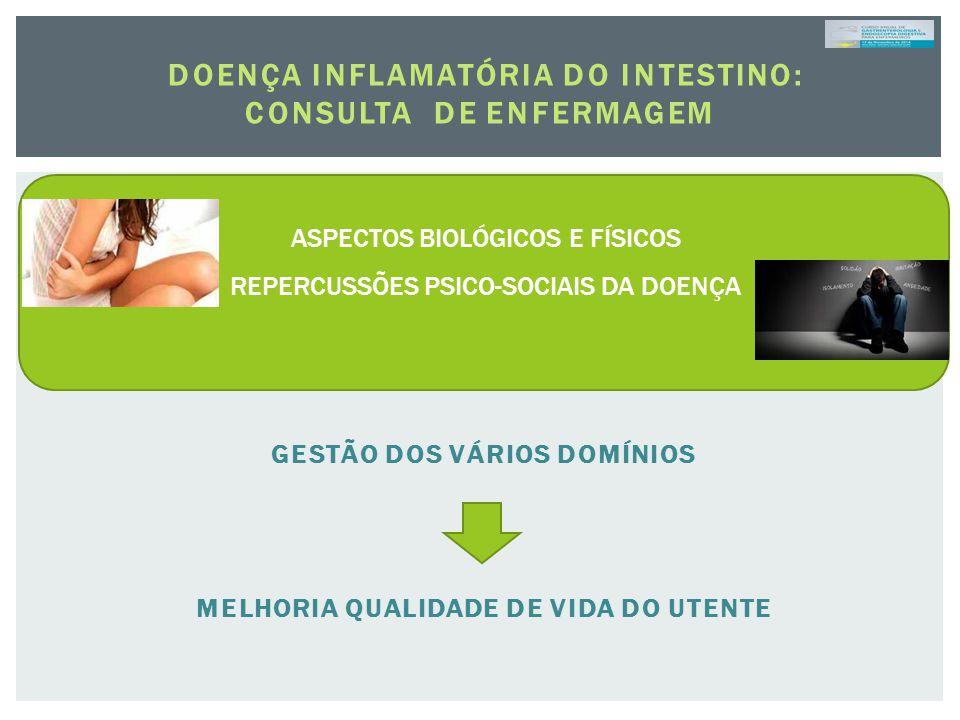 doença inflamatória do intestino: CONSULTA DE ENFERMAGEM