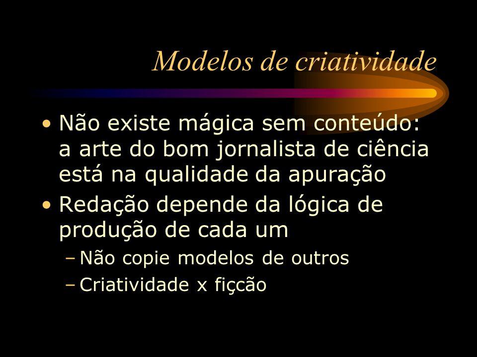 Modelos de criatividade