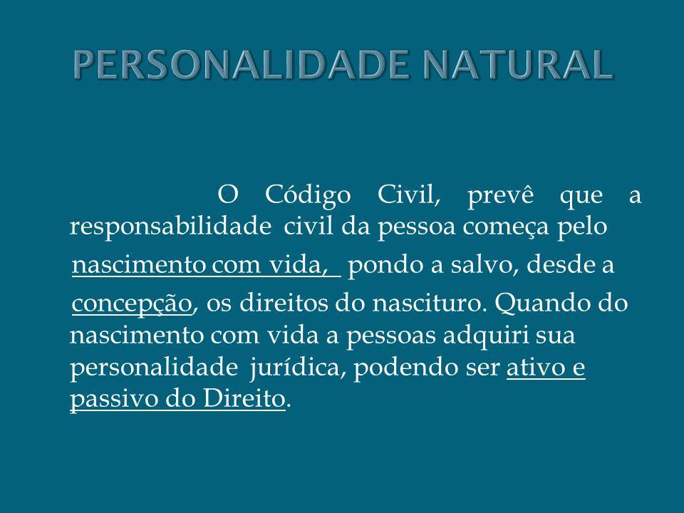 PERSONALIDADE NATURAL