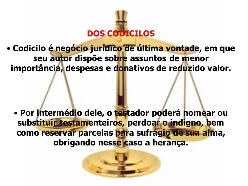 DOS CODICILOS