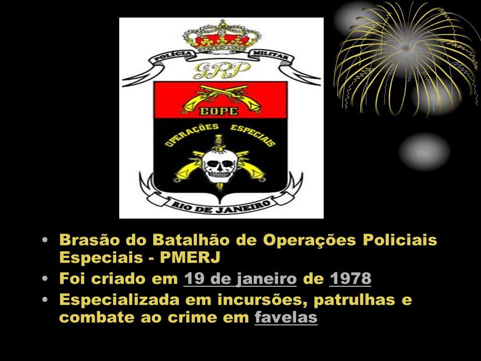 Brasão do Batalhão de Operações Policiais Especiais - PMERJ