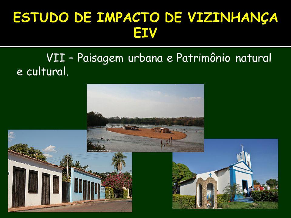 ESTUDO DE IMPACTO DE VIZINHANÇA EIV