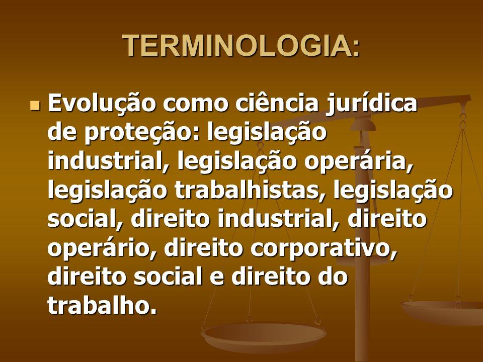 TERMINOLOGIA: