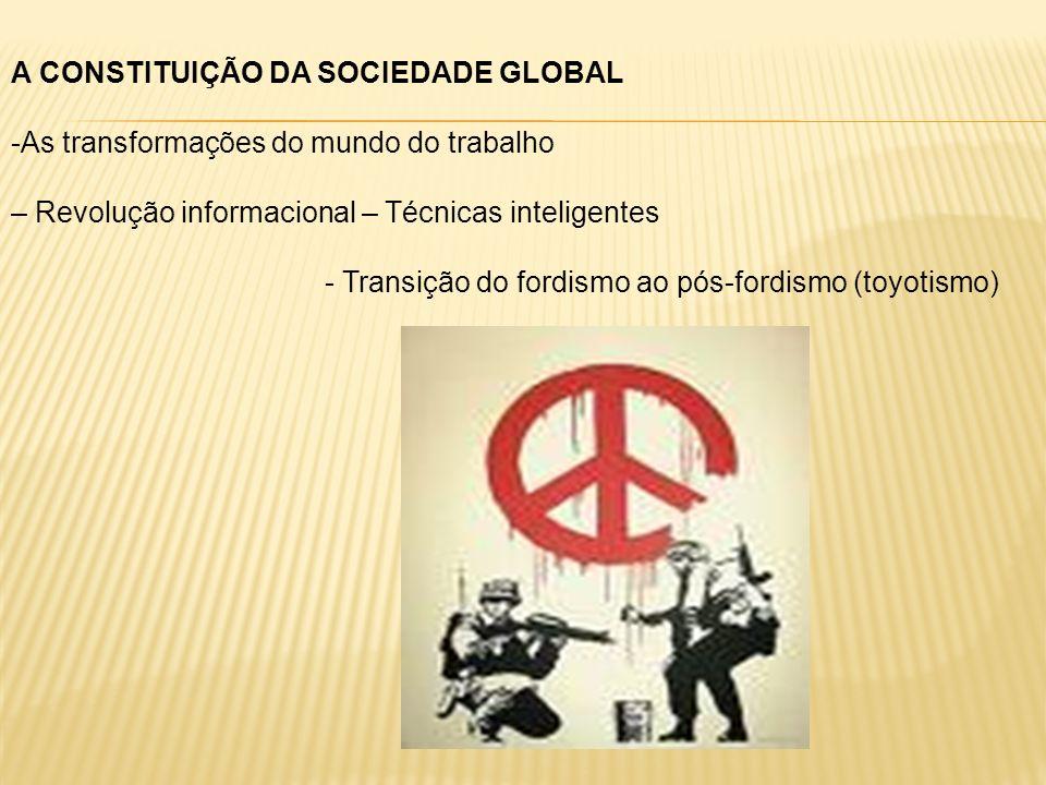 A CONSTITUIÇÃO DA SOCIEDADE GLOBAL