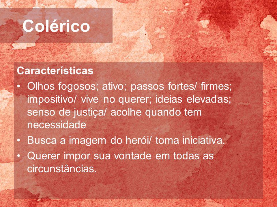 Colérico Características