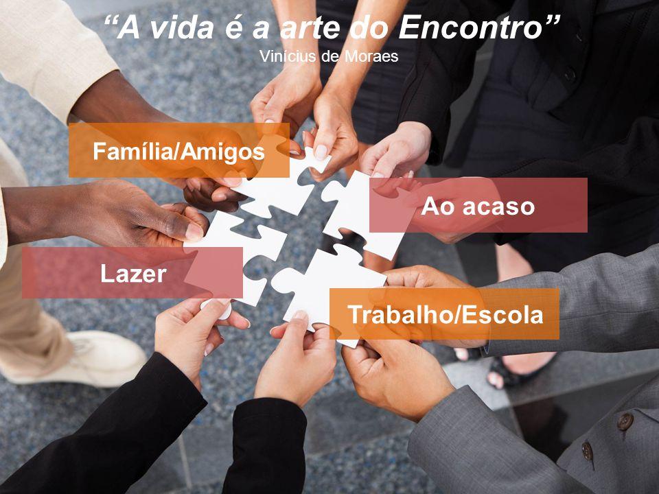 A vida é a arte do Encontro Vinícius de Moraes