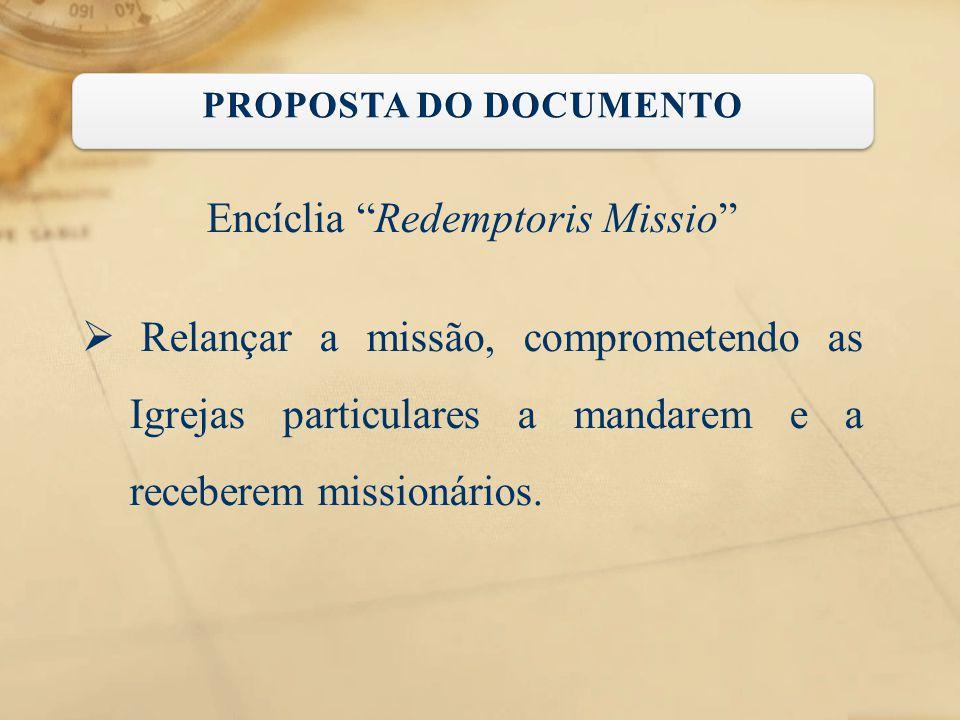 Encíclia Redemptoris Missio