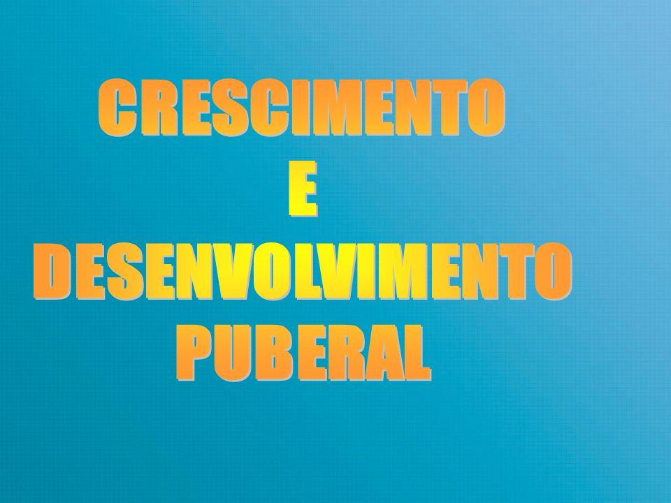 CRESCIMENTO E DESENVOLVIMENTO PUBERAL