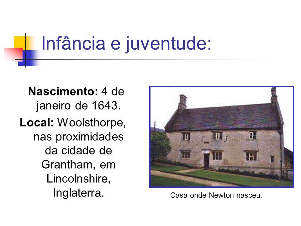 Nascimento: 4 de janeiro de 1643.