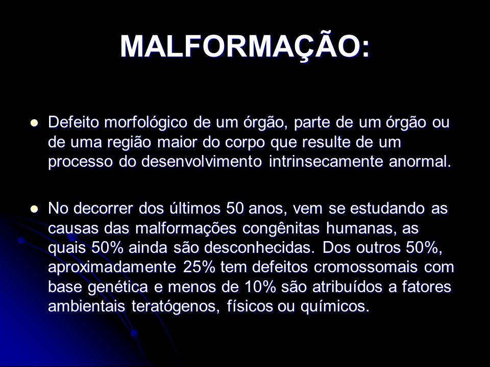 MALFORMAÇÃO: