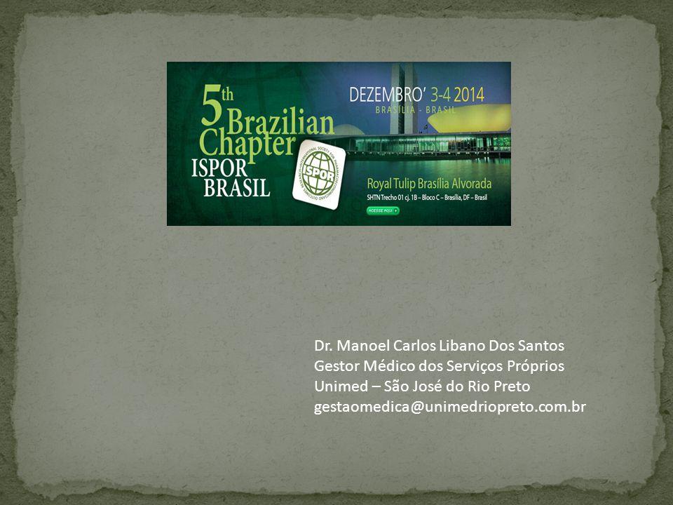 Dr. Manoel Carlos Libano Dos Santos