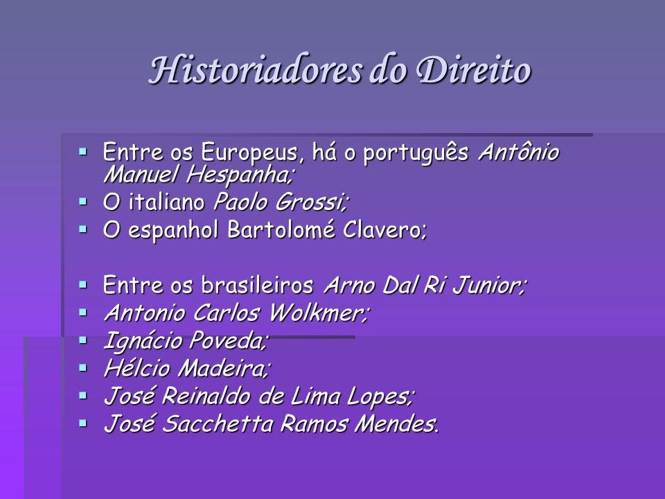 Historiadores do Direito