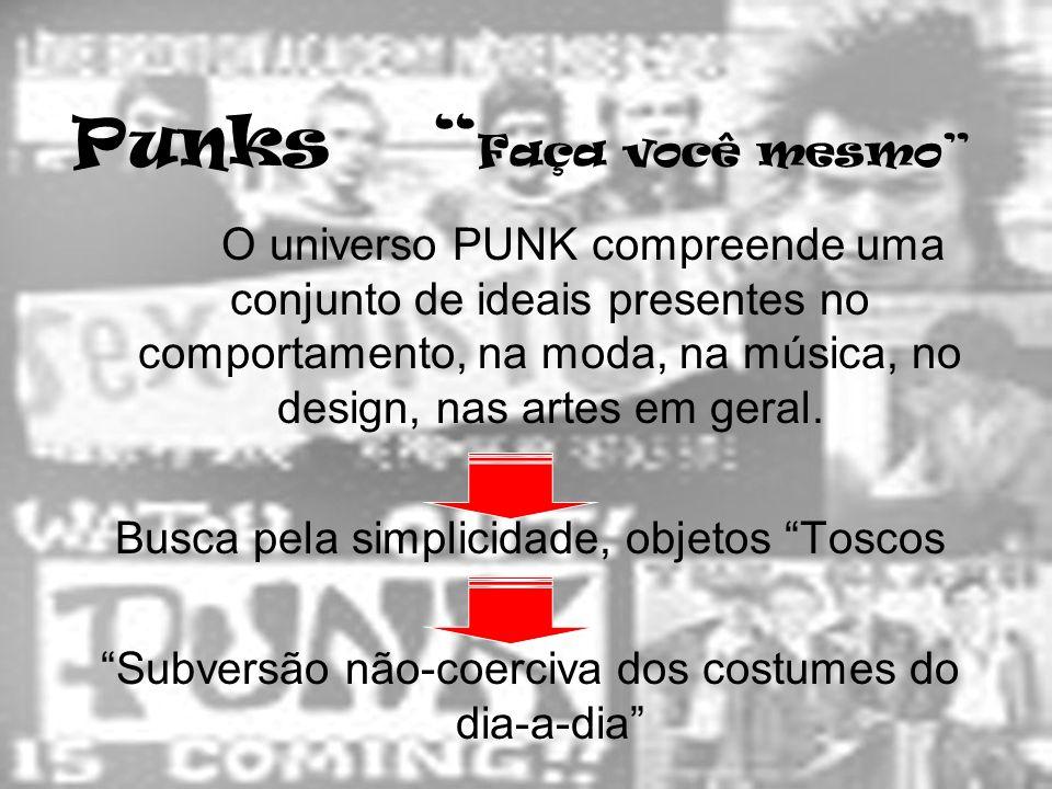 Punks Faça você mesmo