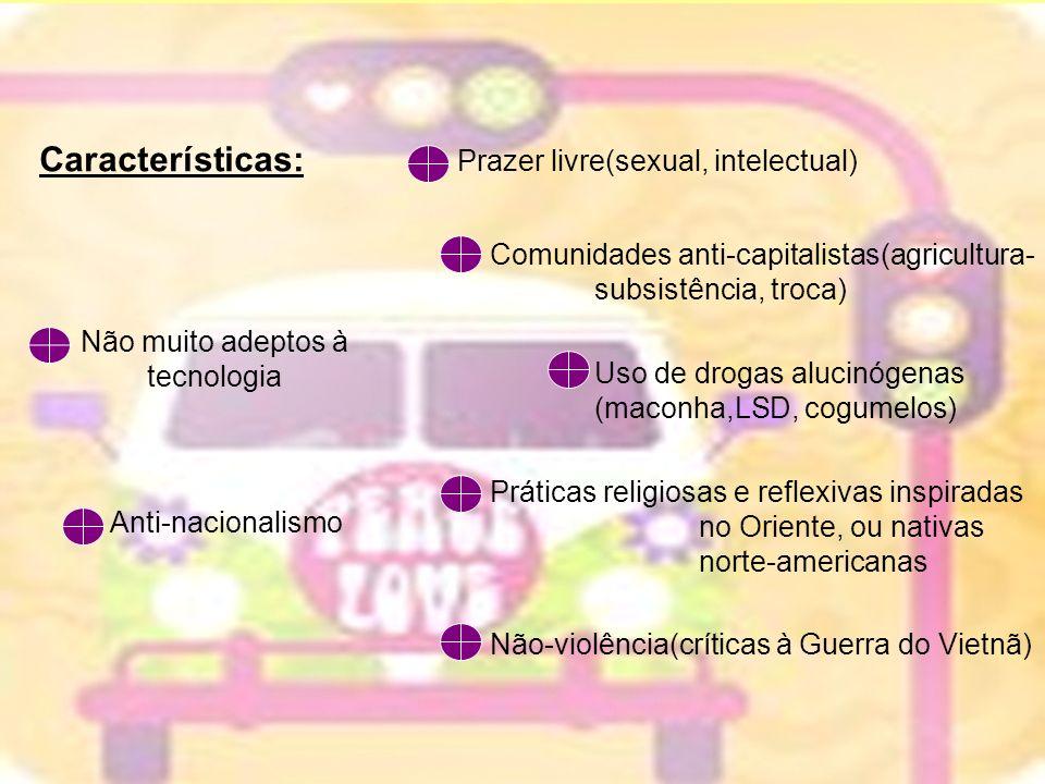 Características: Prazer livre(sexual, intelectual)